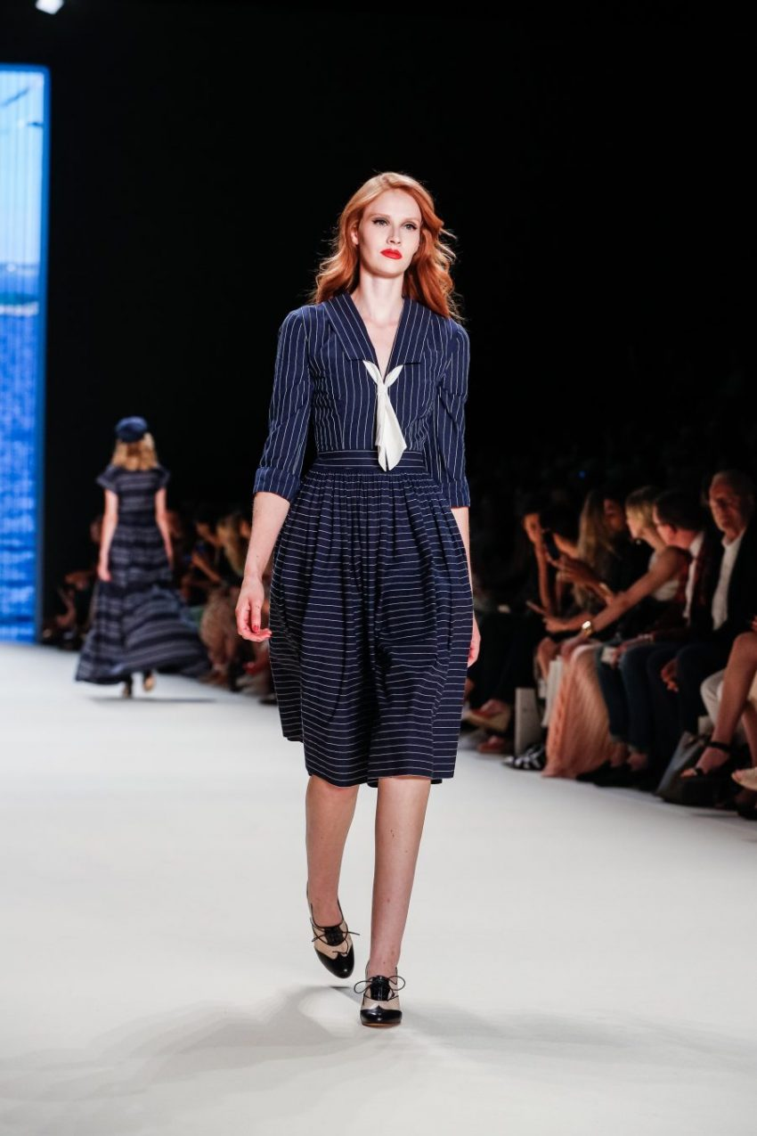 Mercedes-Benz Fashion Week Berlin Spring/Summer 2017<br>Lena Hoschek