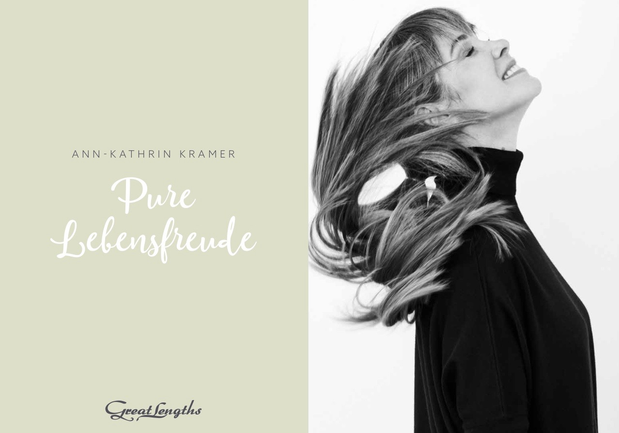 Great Lengths Lookbook 2018<br> Great Lengths Markenbotschafterin Ann-Kathrin Kramer